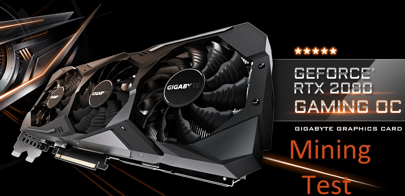 Update] The real test in the mining of the video card Gigabyte