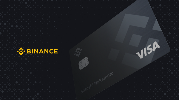 binance card visa