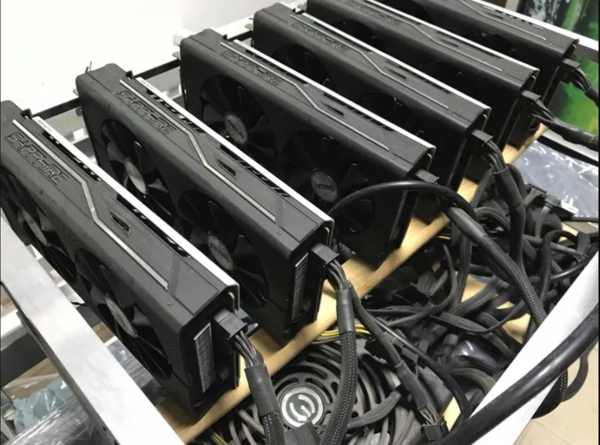 amd polaris rx480 nitro+ mining hashrate