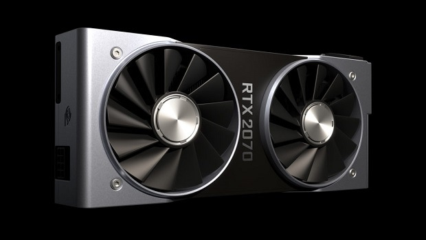 Comparison of characteristics and hashrate in the mining RTX2070