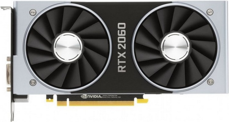 Announcement of the Nvidia RTX 2060 6Gb video card and mining