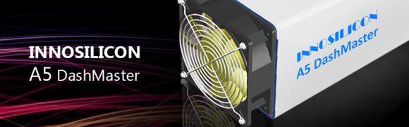Innosilicon A5 DashMaster X11 - мощнейший ASIC майнер для X11