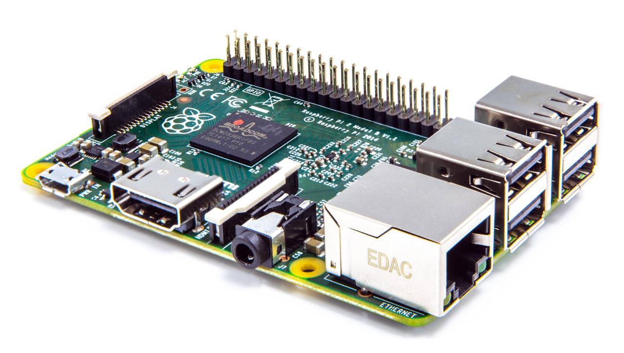 Доступен новый более мощный Raspberry Pi 2 Model B