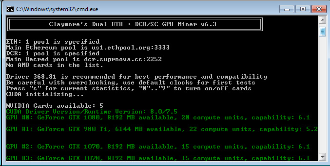 best cryptocurrency gtx970 mining