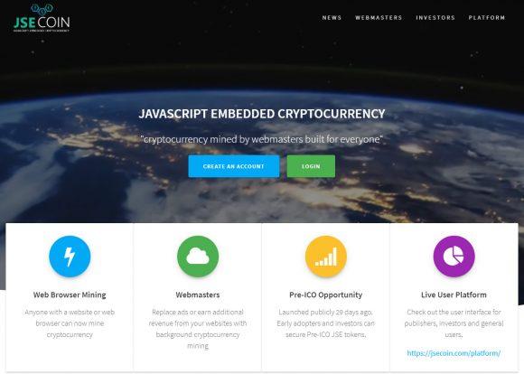 JSEcoin: self-майнинг в браузере снова работает