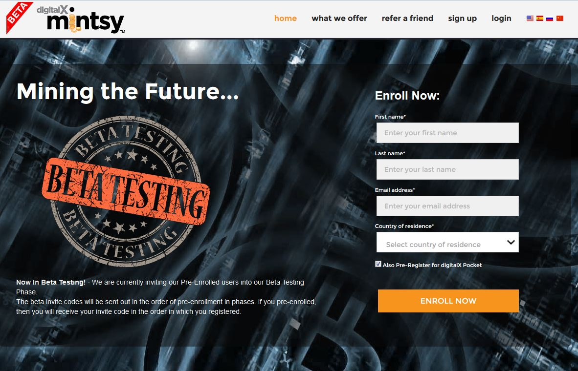 Mintsy - public beta-test of cloud mining service from cryptsy creators