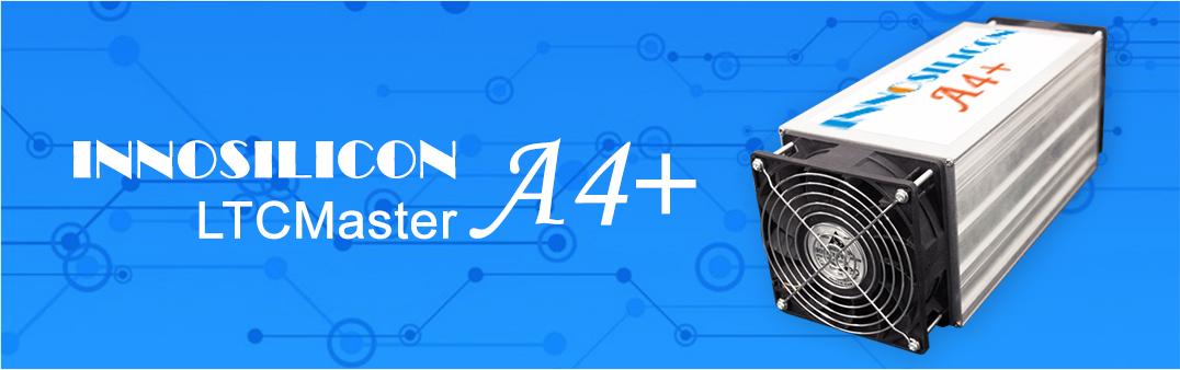 Innosilicon A4+ LTCMaster 620 MHS Scrypt ASIC - возможность предзаказа