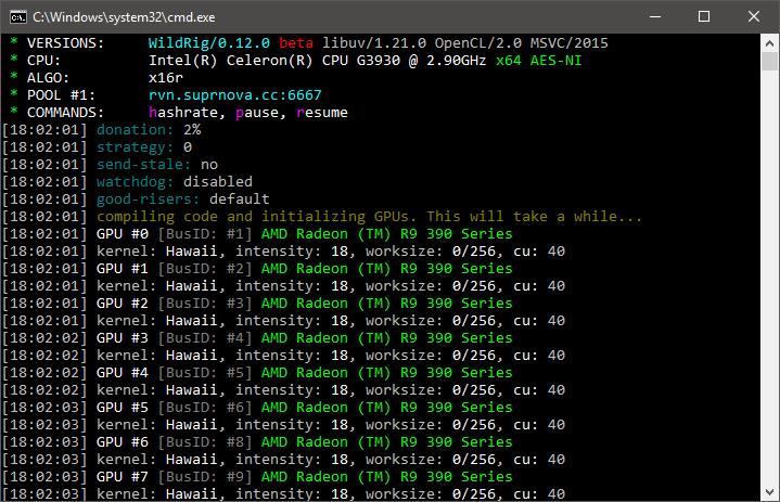 WildRig Multi 0 12 0 Beta: more algorithms and hashrate